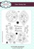 Creative Expressions - Stitched Baubles A5 Clear Stamp Set - CEC793